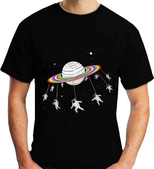 تیشرت مردانه طرح فضانورد , تیشرت طرح فضانورد
