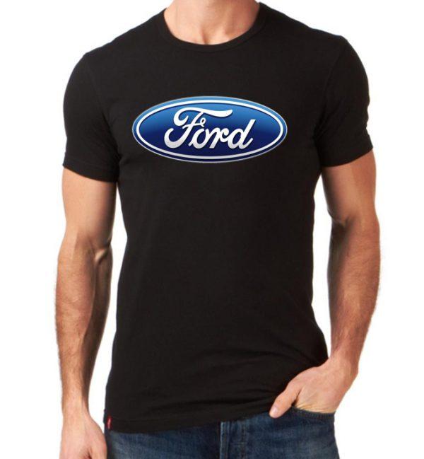 تیشرت مردانه طرح ماشین Ford