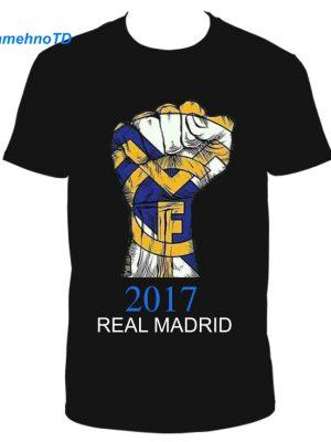 تیشرت طرح رئال مادرید