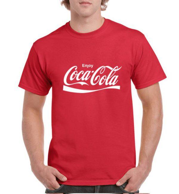 تیشرت طرح کوکاکولا
